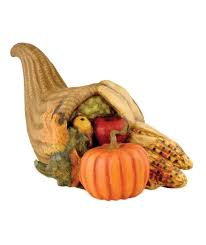 paper mache thanksgiving cornucopia bethany lowe harvest decor