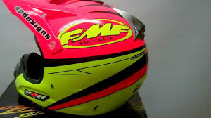 custom painted motocross helmets m2r 2 5 fmf helmet youtube