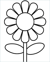 printable spring flowers printable spring flower coloring pages rkomitet org
