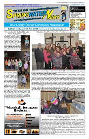 march 12 2015 edition 438 for web by springwater news issuu