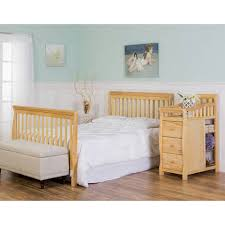 Crib Mattress Support Frame On Me 5 In 1 Brody Convertible Crib With Changer White