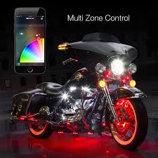 Led Strip Lights Automotive by Xkchrome Ios Android App Bluetooth Control Advanced 10 Pod 8 Strip