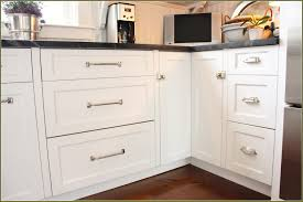 kitchen cabinets with cup pulls brushed nickel cabinet pulls cup satin home design rousing picture