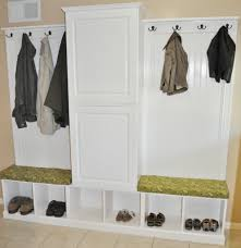 Mudroom Cabinets Ikea Furniture White Wooden Mudroom Lockers Ikea With Shelves And