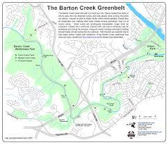 Phoenix Mountain Preserve Map by Barton Creek Greenbelt Austin Tx United States Trail Map