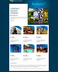 free e newsletter templates email templates package travel