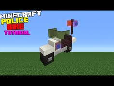 Minecraft How To Make A Bed Minecraft Tutorial How To Make A Police Station Interior Exterior