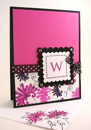 monogrammed scrapbook 57 best monogram card set ideas images on note cards
