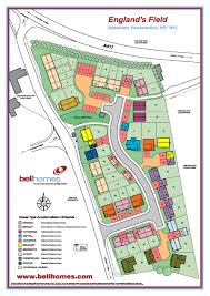 Bell Centre Floor Plan 3 4 And 5 Bedroom Homes England U0027s Field Bodenham Herefordshire