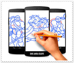draw ninja turtles android apps google play