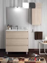 muebles de lavabo mueble de baño box 3 cajones 100cm mueble lavabo espejo visobath