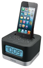Family Charging Station Ideas by Amazon Com Ihome Ipl8bn Stereo Fm Clock Radio With Lightning Dock