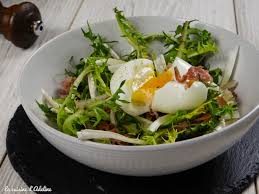 cuisine oeuf salade de pissenlits et oeuf mollet la cuisine d adeline
