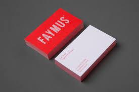 Red Business Cards Business Card Design Inspiration No 10 U2014 Bp U0026o