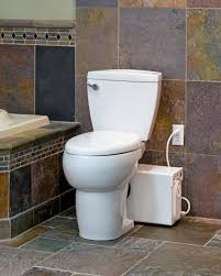 thetford anywhere upflushing round toilet system and macerating toilet