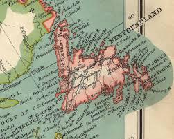 Map Of Newfoundland Canada by Newfoundland Colony