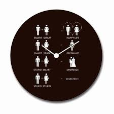 funky wall clocks archives giftsmate