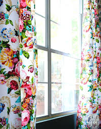 Colorful Patterned Curtains Bright Curtains 100 Images Curtain Ideas Yellow Curtains