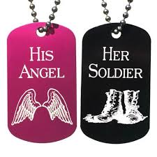 his and hers dog tags personalized dog tag necklaces chirp gifts