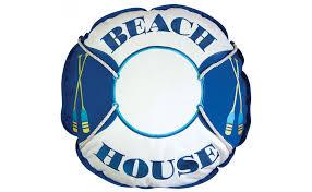 preserver shaped beach house pillow outdoor sunbrella rightside
