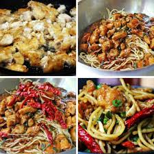 Is California Pizza Kitchen Expensive by Kung Pao Chicken Spaghetti Copycat Dinner Then Dessert