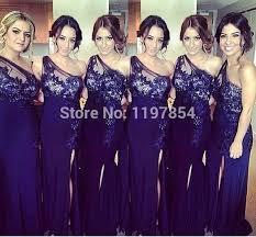 regency purple bridesmaid dresses aliexpress buy regency purple bridesmaid dress one