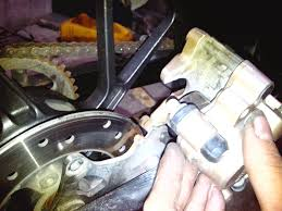 raider rear brake sticking solution techy at day blogger at