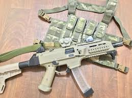 uw gear minuteman chest rig for cz scorpion evo the trigger