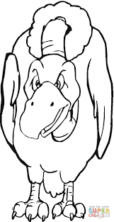 bird coloring page vulture bird coloring page free printable coloring pages