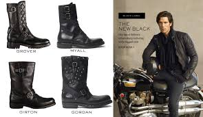 biker boots fashion ralph lauren nails classic motorcycle boots thegentlemanracer com