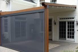 Durasol Awnings Private Residence Northern Nj Retractable Pergola Awning