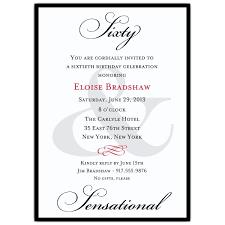 60th birthday card wording 60th birthday invitation wording cevich