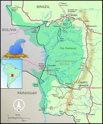 Map Of Rio Grande River Pantanal Escapes Pantanal Map