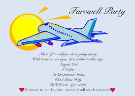 going away party invitations farewell party invitation clipart 5