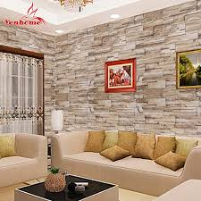 stone walls stickers promotion shop for promotional stone walls 5m self adhesive wall paper roll for wall rustic kitchen living room tv background stone wallpaper brick wall sticker home decor