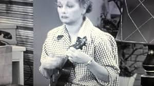Lucille Ball I Love Lucy Lucy Playing The Ukulele From I Love Lucy Youtube
