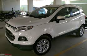 a diamond white ford ecosport automatic joins the family case of
