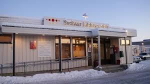Svolvær Airport, Helle