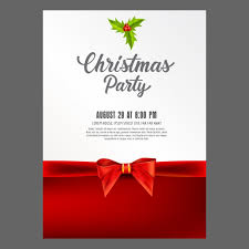 christmas card design vector free download