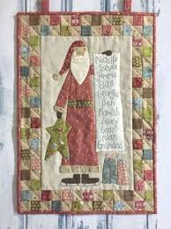 birdhouse quilt pattern santa s checklist by the birdhouse quilted wallhanging pattern