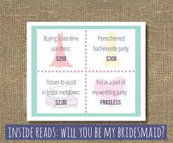 bridesmaid invite of honor 13 weddbook of honour invite smart designs