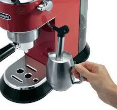 delonghi magnifica red light de longhi dedica pump espresso and coffee machine red ec 680 r