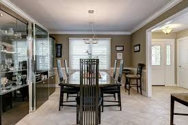 Chair Rails In Dining Room by Contemporary Dining Room With Crown Molding U0026 Chair Rail In Saint