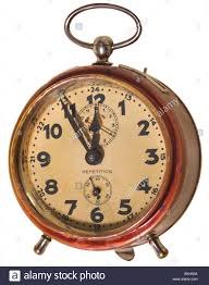 Old Fashioned Alarm Clocks Clock Alarm Clock Five Before Twelve Germany Circa 1928 1920s