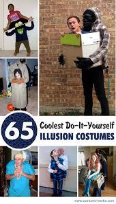 Homemade Nerd Halloween Costumes 65 Coolest Diy Illusion Costumes Diy Costumes Halloween Diy