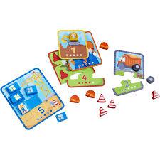 Haba Bad Rodach Haba Zuordnungsspiel Zählspaß Baustelle Babymarkt De
