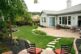 build backyard landscaping ideas medium image for simple landscape
