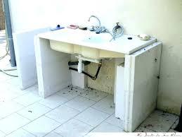 meuble cuisine avec évier intégré meuble avec evier cuisine mattdooley me