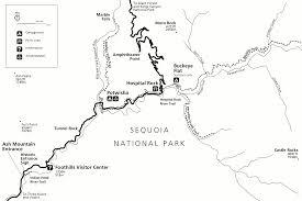 Buckeye Trail Map File Nps Sequoia Kings Canyon Foothills Trails Map Gif Wikimedia