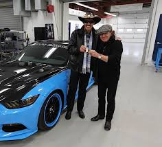 badass mustang richard petty and ford team up for badass mustang ford trucks com